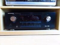 Home Cinema System Mission and Marantz Speakers and Amp