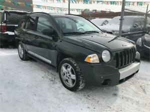 2007 Jeep Compass Limited 4x4 Leather Seats, Clean CarProof