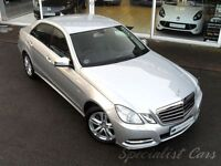 MERCEDES-BENZ E CLASS 2.1 E220 CDI BLUEEFFICIENCY EXECUTIVE SE 4d AUTO 1 (silver) 2012