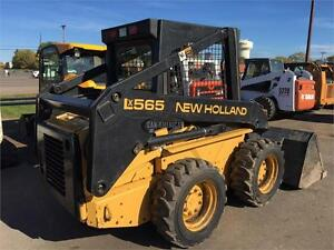 1997 NEW HOLLAND LX565 SKID STEER LOADER