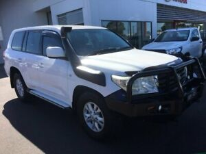 2007 Toyota Landcruiser VDJ200R GXL (4x4) Glacier White 6 Speed Automatic Wagon Sale Wellington Area Preview