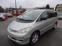 TOYOTA PREVIA 2.0 D-4D T SPIRIT~54/2004~5 DOOR MPV~7 SEATS~RARE MANUAL~SUPERB !!