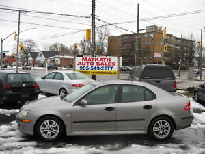**2005 Saab 2.0 T Automatic 4 door**  Certified & E-tested