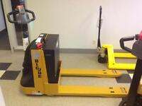 NEW BLUE GIANT/BIG JOE WPT-45 POWER PALLET JACK