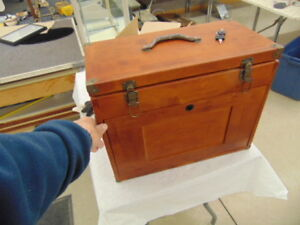 MACHINIST WOODEN MULTI DRAWER TOOL BOX