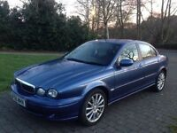2006 Jaguar X type 2.0 Diesel Sport brilliant in fuel 50+ mpg