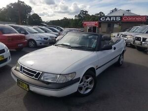 1995 Saab 900 S 2.0I White 4 Speed Automatic Coupe Edgeworth Lake Macquarie Area Preview