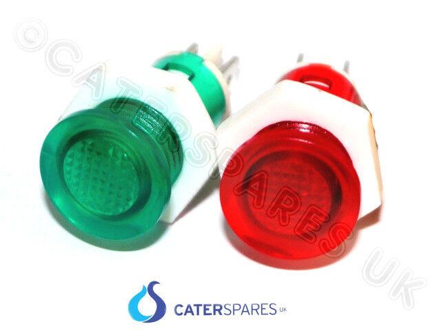 12mm 240v Red Neon Indicator Solder or Spade Tags