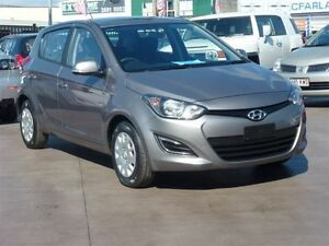 2015 Hyundai i20 PB MY14 Active Grey 6 Speed Manual Hatchback Strathpine Pine Rivers Area Preview