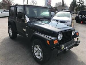 2005 Jeep TJ Sport, new clutch! clean carfax! certified