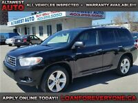 2008 Toyota Highlander Limited FULLY LOADED