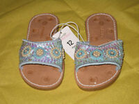Girl's Summer Shoes - Size 12 (New)