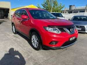 2014 Nissan X-Trail T32 TS X-tronic 2WD Red 7 Speed Constant Variable Wagon Maidstone Maribyrnong Area Preview