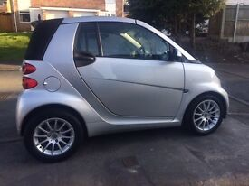 Smart COVERTIBLE, 2012 facelift, TOP Spec, FSHlady owner, sat/nav, usb,blue tooth, dvd,hands free