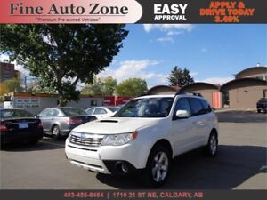 2010 Subaru Forester 2.5XT Limited, AWD  Leather Sunroof