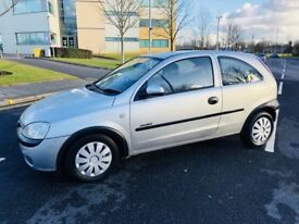 VAUXHALL CORSA 1.4 COMFORT 16V 3DR AUTOMATIC (silver) 2002