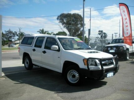 2008 Holden Colorado  White Manual Dual Cab Embleton Bayswater Area Preview
