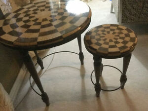 BNC High End Nesting Tables from Cottswood Interiors Set of 3
