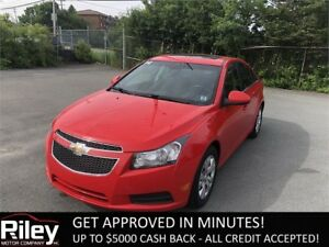 2014 Chevrolet Cruze 1LT STARTING AT $111.09 BI-WEEKLY