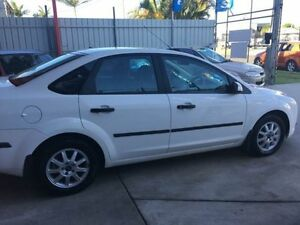 2007 Ford Focus LT CL White 4 Speed Sports Automatic Sedan Clontarf Redcliffe Area Preview
