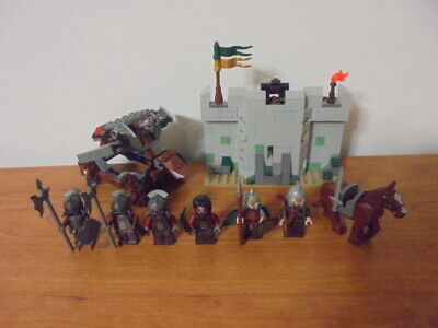 LEGO Lord of The Rings Uruk-Hai Army 9471 99% Complete with ALL FIGS Eomer Instr