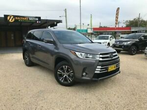 2018 Toyota Kluger GSU55R GX (4x4) Graphite 8 Speed Automatic Wagon Islington Newcastle Area Preview