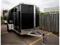 2016 Stealth UltraLite 7x12 enclosed cargo trailer