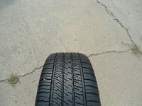 SINGLE - P225/50R17 - GY EAGLE RS-A BLK A/S