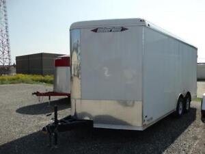 Enclosed Contractors Trailer with extra height