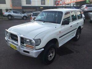 1994 Toyota Landcruiser RV (4x4) White 5 Speed Manual 4x4 Wagon Edgeworth Lake Macquarie Area Preview