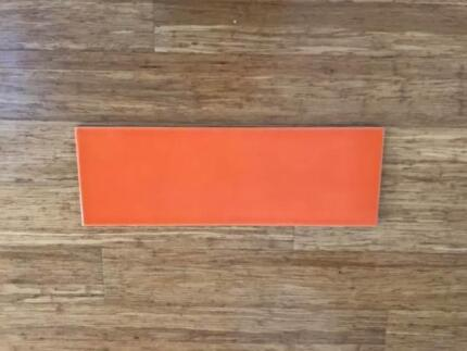 Orange coloured wall tiles for quick sale !