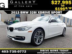2013 BMW 328i xDrive Red-Line $199 bi-weekly APPLY NOW DRIVE NOW