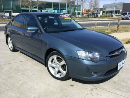2005 Subaru Liberty B4 MY05 Safety Pack AWD Blue 4 Speed Sports Automatic Sedan