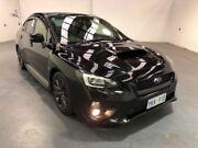 2014 Subaru WRX V1 MY15 PREMIUM LINEARTRONIC AWD Black Automatic Selespeed Sedan Fyshwick South Canberra Preview