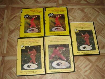 Cheng BaGua Zhang Ba Gua Paku Chang Xing yi 5 DVDs Master Li Tai Liang Kung Fu