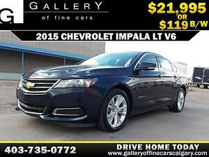 2015 Chevrolet Impala 2LT $119 bi-weekly APPLY TODAY DRIVE TODAY