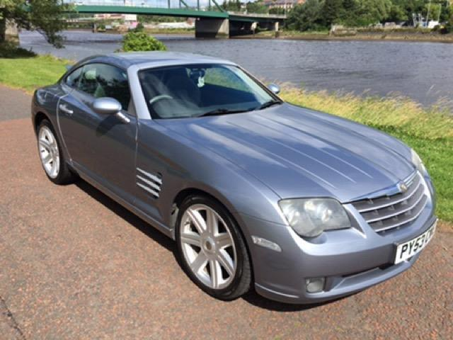 2003 53 chrysler crossfire 3 2 v6 2d 215 bhp in newcastle tyne and wear gumtree. Black Bedroom Furniture Sets. Home Design Ideas