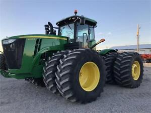 John Deere 9460R 4WD, High Flow/PTO! ONLY 891 Hours! $329,500!