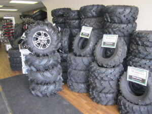 We have over 500 ATV/UTV tires to sell, everything 40% off.