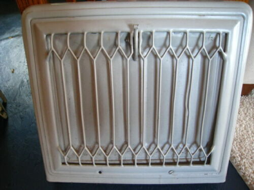 Vintage Metal Vent Grate Cover Heat Wall Air Return Register Steam Punk