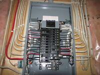 Maitre Electricien ,changement de panneau .514-389-7997