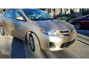 2011 Toyota Corolla CE,LIKE NEW,NO ACCIDENTS. 2 ANS GARANTIE