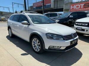 2013 Volkswagen Passat Type 3C MY13.5 Alltrack DSG 4MOTION White 6 Speed Granville Parramatta Area Preview