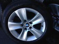 Genuine Alloy wheels 17 BMW 5 225 55 17 Winter tyres