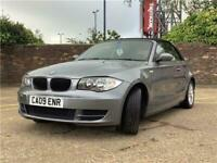 2009 BMW 1 SERIES CONVERTIBLE 118i ES 2dr Convertible Petrol Manual