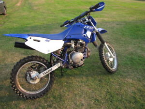ttr 125 and parts bike