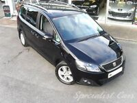 SEAT ALHAMBRA SE ECOMOTIVE CR TDI Probably the Best in the UK - (black) 2010