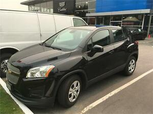 2015 Chevrolet TRAX LS AUTOMATIC + A/C black on black