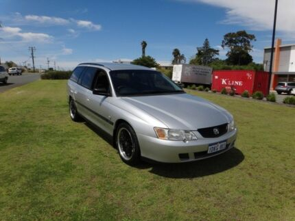 2003 Holden Commodore VY II Executive Akoya Silver 4 Speed Automatic Wagon Wangara Wanneroo Area Preview