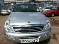 SSANGYONG REXTON 27 SE 57 REG LOW MILES 100K DIESEL SUV 4X4 4WD